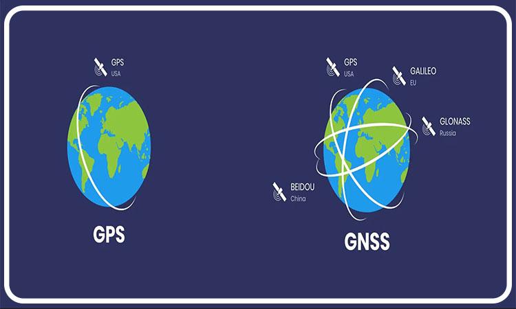 تفاوت های اصلی بین GPS و GNSS