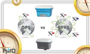 تفاوت جی پی اس و جی پی آر اس