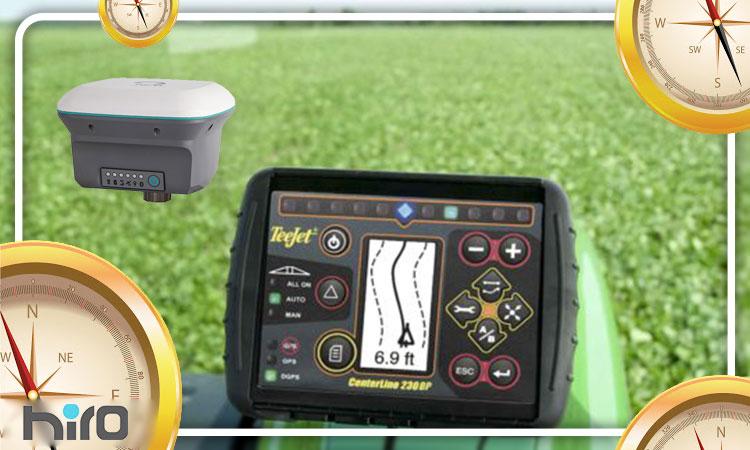 کاربردهای مهم جی پی اس در کشاورزی در سایت هیروگنس